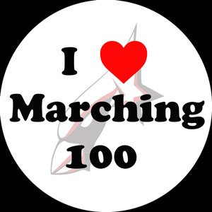 Marching 100 Button Day
